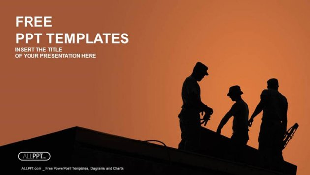 PowerPoint Templates for Construction Company Work