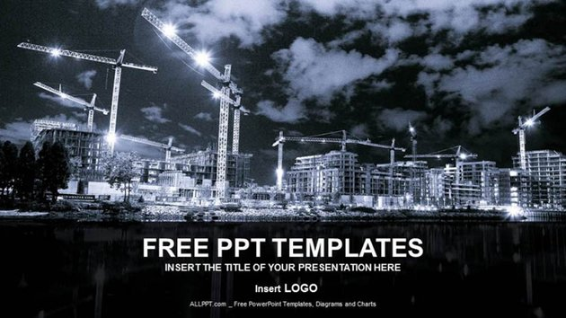 Free Construction PPT Download Template