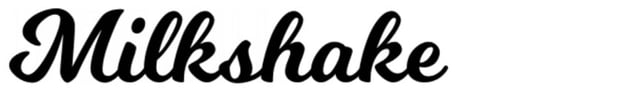 Milkshake Free Script Font