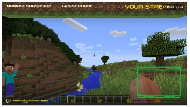 minecraft overlay maker