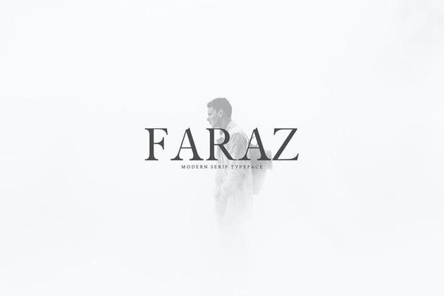 Faraz Stylish Serif Typeface