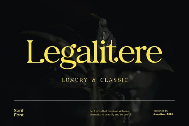 Legalitere Serif Font