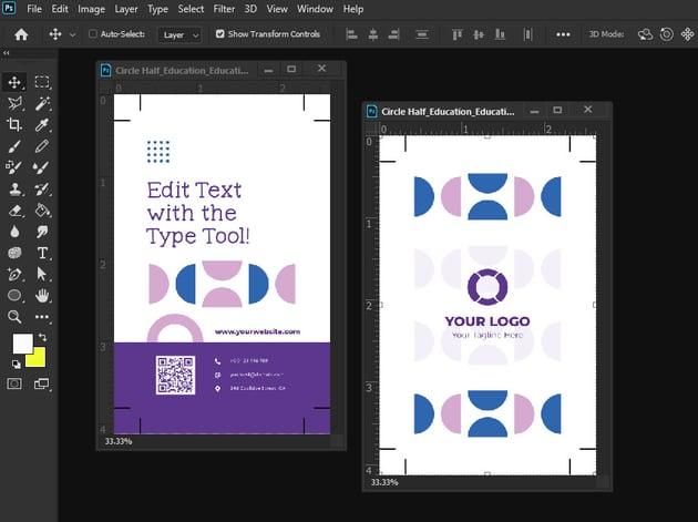 multiple photoshop documents