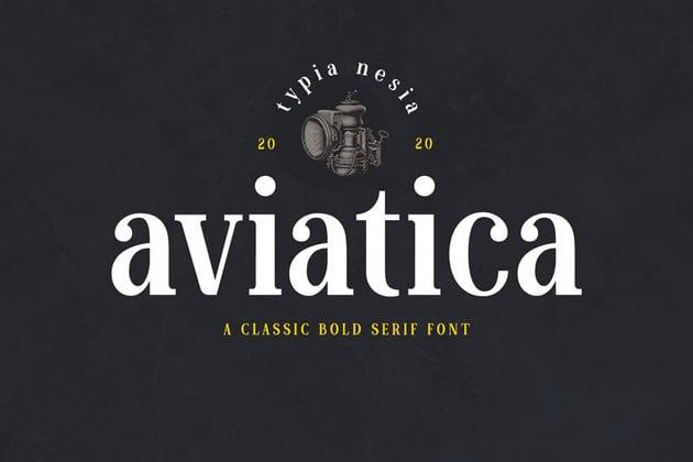 Aviatica Classic Serif