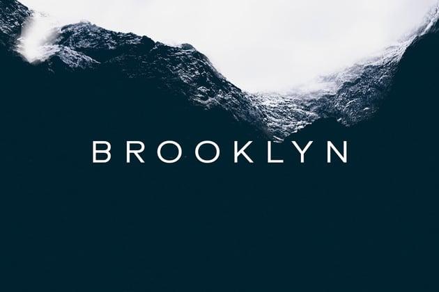BROOKLYN - Minimal Geometric Sans-Serif Typeface