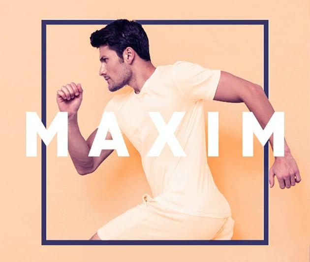Maxim Geometric Sans Serif Typeface