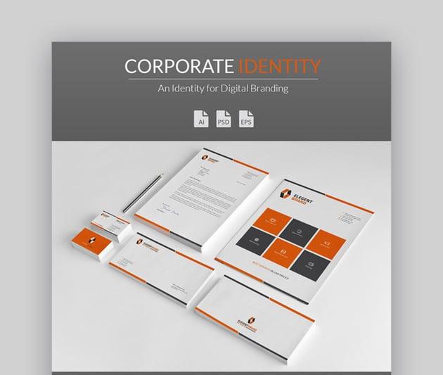 Professional Corporate Identity Stationery
