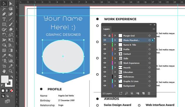 Illustrator selection tool