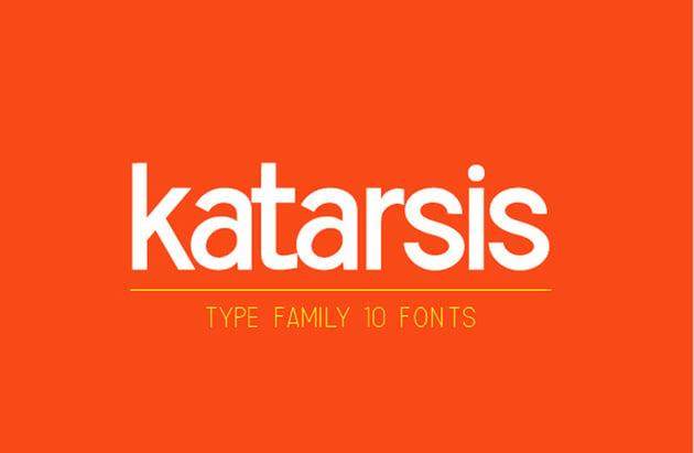 Katarsis Font