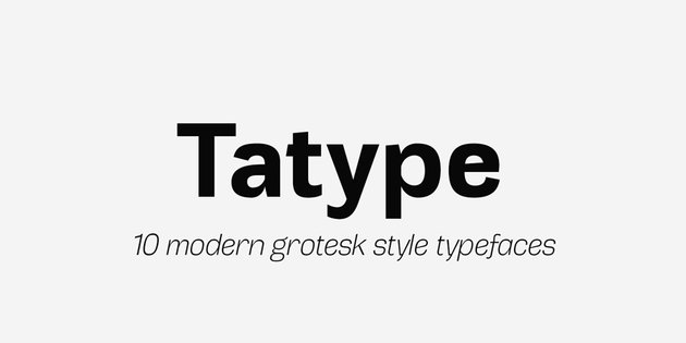 Tatype Font Family
