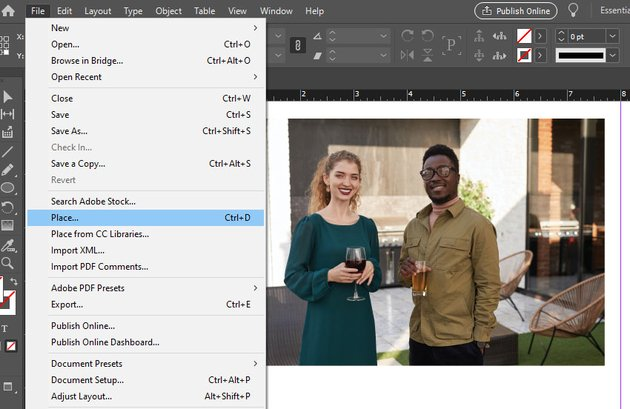 indesign images