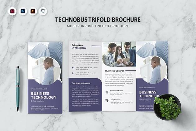 Technobus Trifold Brochure