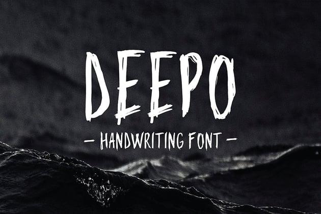 sketchy handwriting font