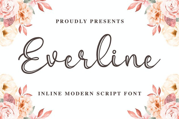 Everline - a Modern Calligraphy