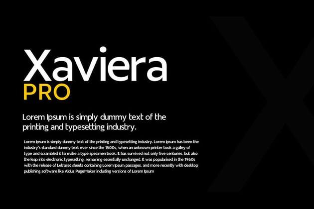 Xaviera - Modern Typeface + WebFonts