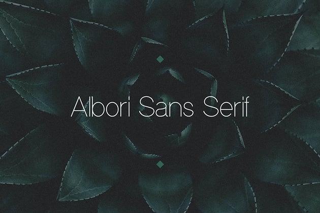 Albori Sans-Serif
