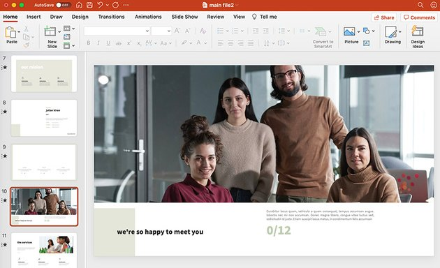 powerpoint introduction