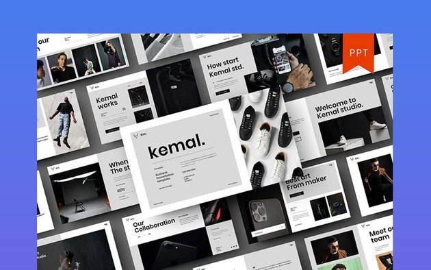 Kemal – Business PowerPoint Template