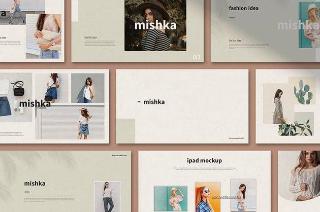 stylish PowerPoint slide design
