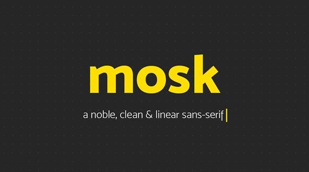 Mosk Free Font Download