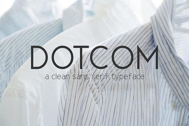 Dotcom Font Family