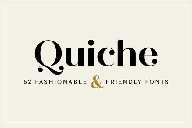 Quiche Font Family