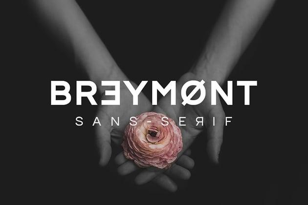 Breymont Sans Serif Font
