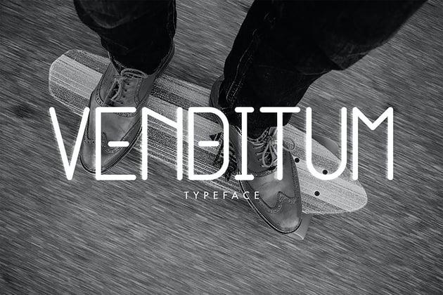 Venditum Typeface