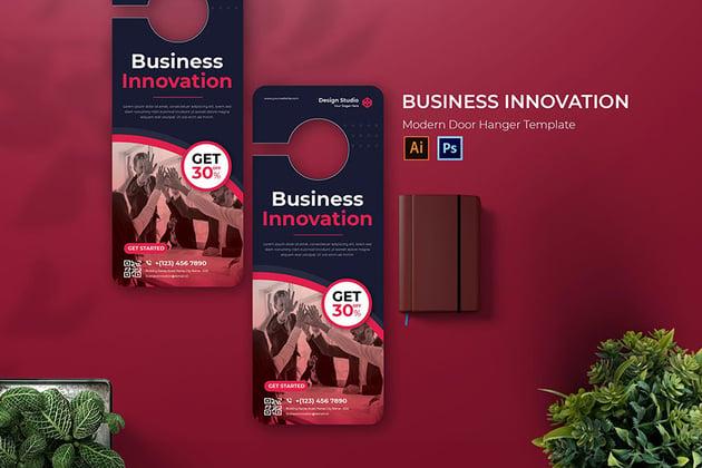 Business Innovation Door Hanger