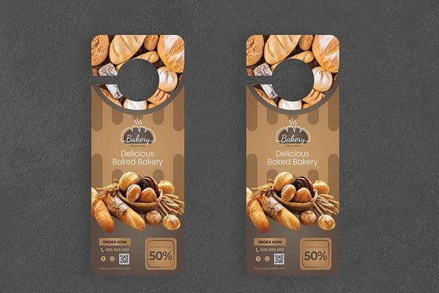 Bakery Door Hanger Creative Promotion