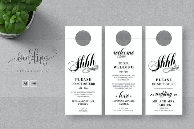 Wedding Door Hanger