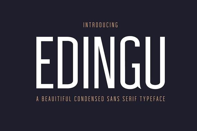 Edingu Sans Serif Font Family
