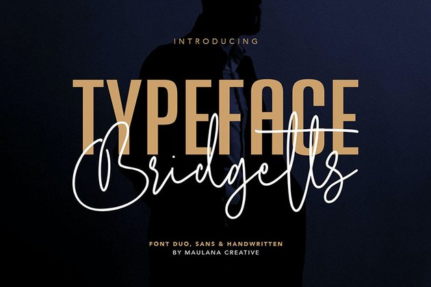 Bridgetts Typeface Free Sans Serif