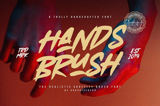Hands Brush - Strong Urban Brush