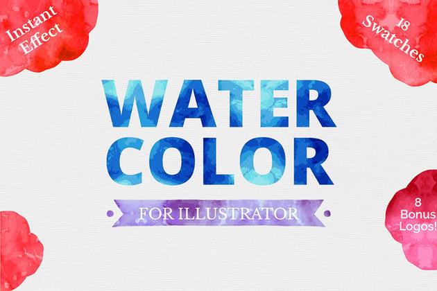 Watercolor for Illustrator