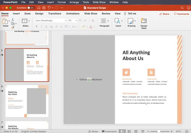 powerpoint slides