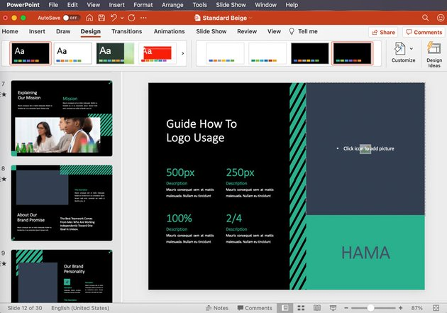 powerpoint design themes