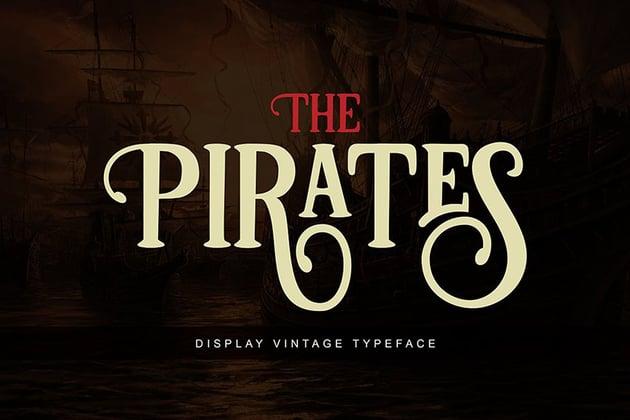 Pirates font