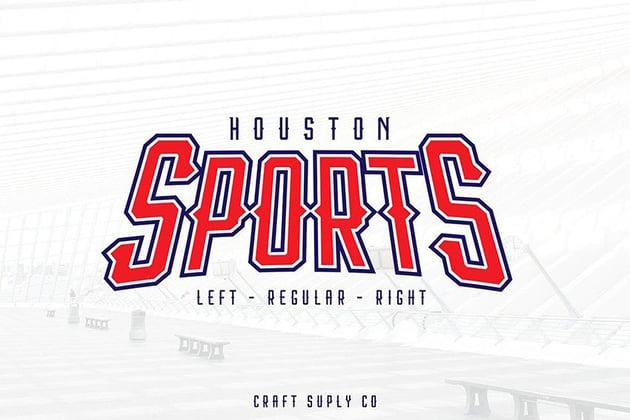 Houston Sports Font Family