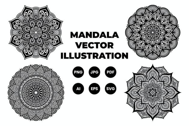 Mandala Set 1