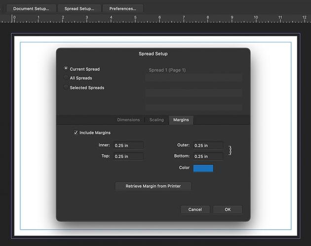 affinity designer spreads