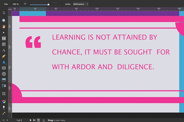 affinity publisher pdf flyer