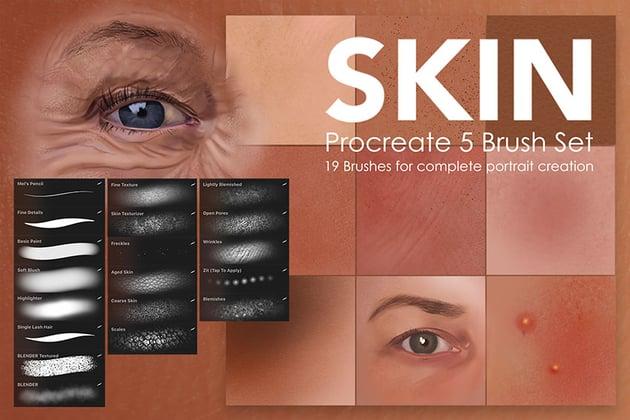 Skin Studio Procreate Brushes