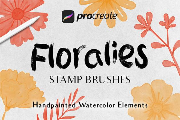 Floralies - Procreat Brushes