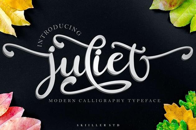 Juliet Modern Calligraphy