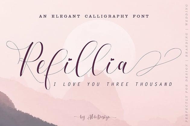 Refillia Calligraphy