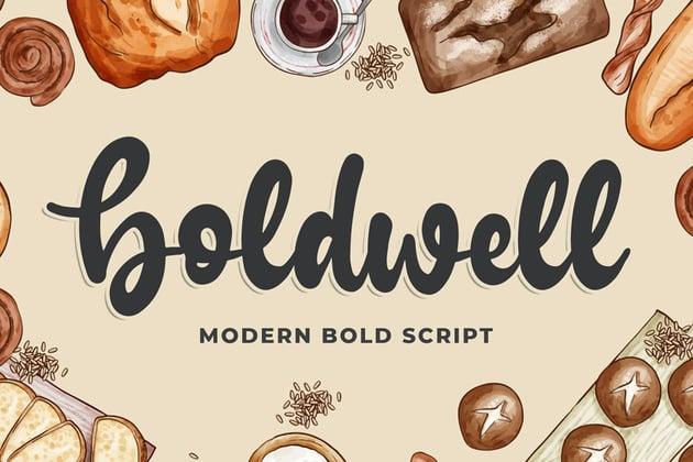 Boldwell - Bold Modern Script