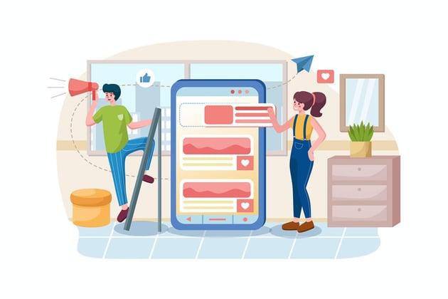 online sales social media