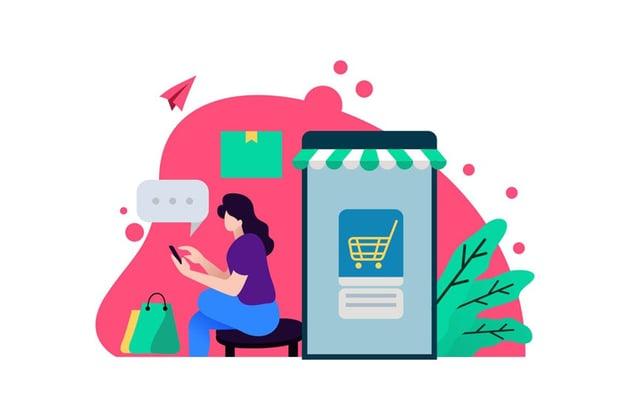 seamless shopping on social media
