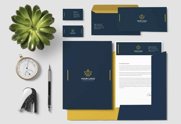 stationery template design